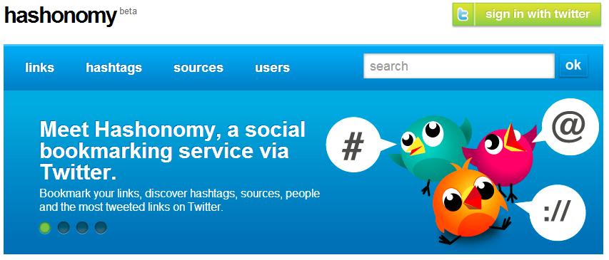 Hashonomy hashtag monitoring tool