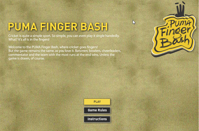 Puma finger bash