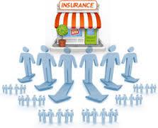 insurance brands social media