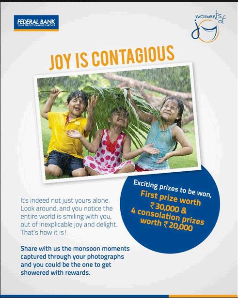 Federal Bank Ltd Moments Of Joy