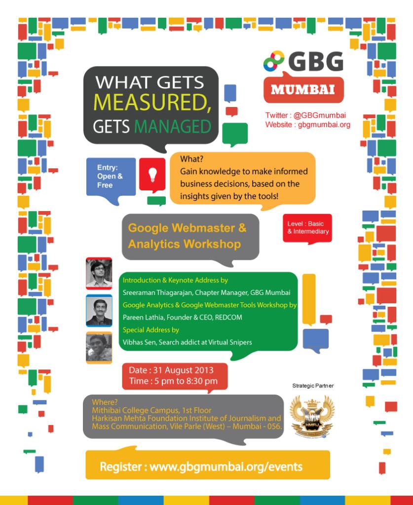GBG Mumbai Invite