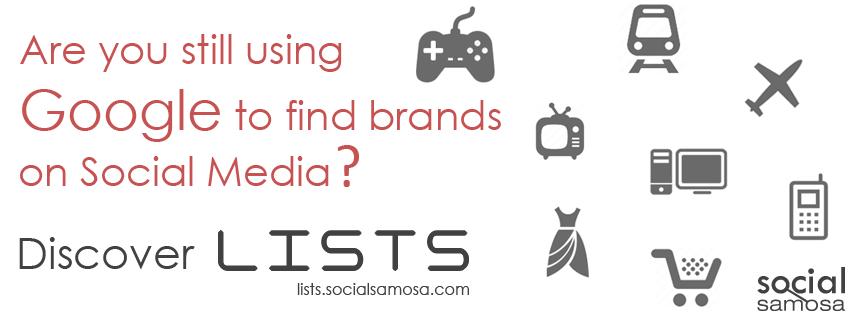 Social Samosa Lists