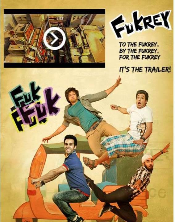 fukrey social media campaign