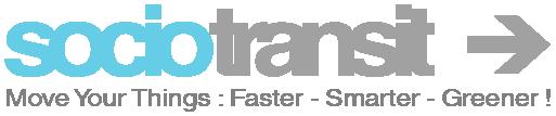 SocioTransit social media platform logo