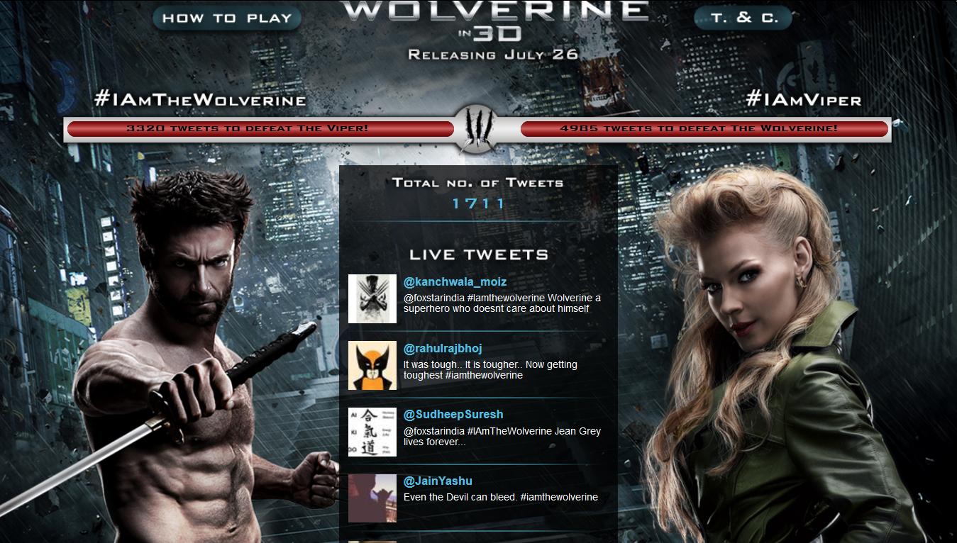 Wolverine social media campaign