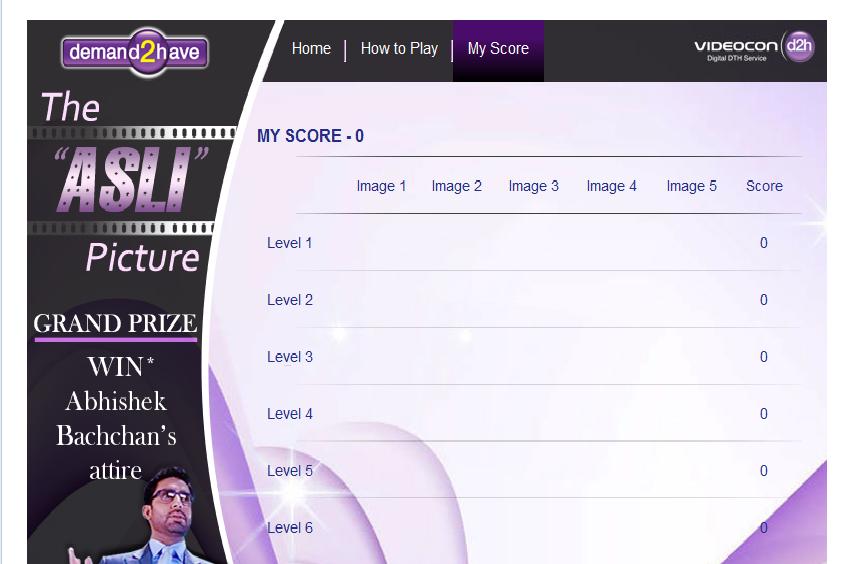 Videocond2h asli picture score board