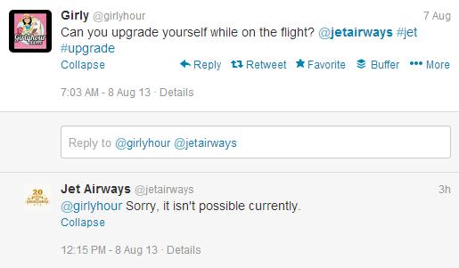 jet airways tweet