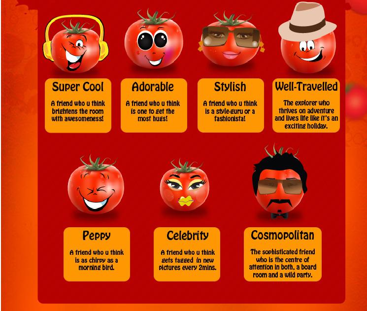 tomatina personality