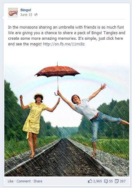 Bingo Facebook Post