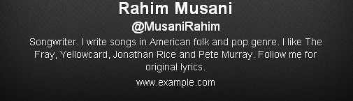 Rahim Musani (MusaniRahim) on Twitter