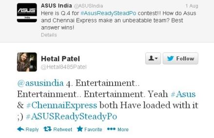 asus india celebration on twitter