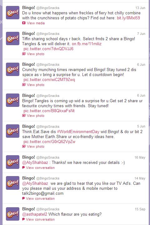 bingo twitter timeline