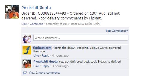 flipkart.com customer support