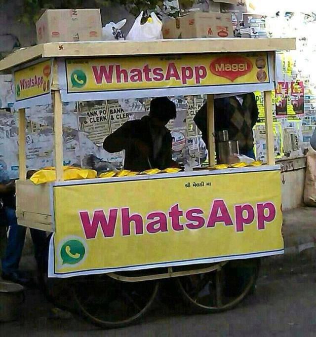 innovative use of whatsapp