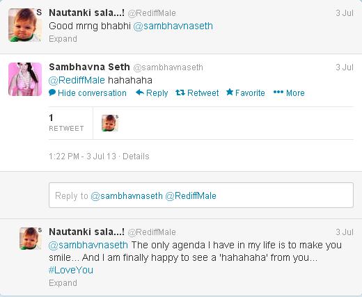 sambhavana seth tweets