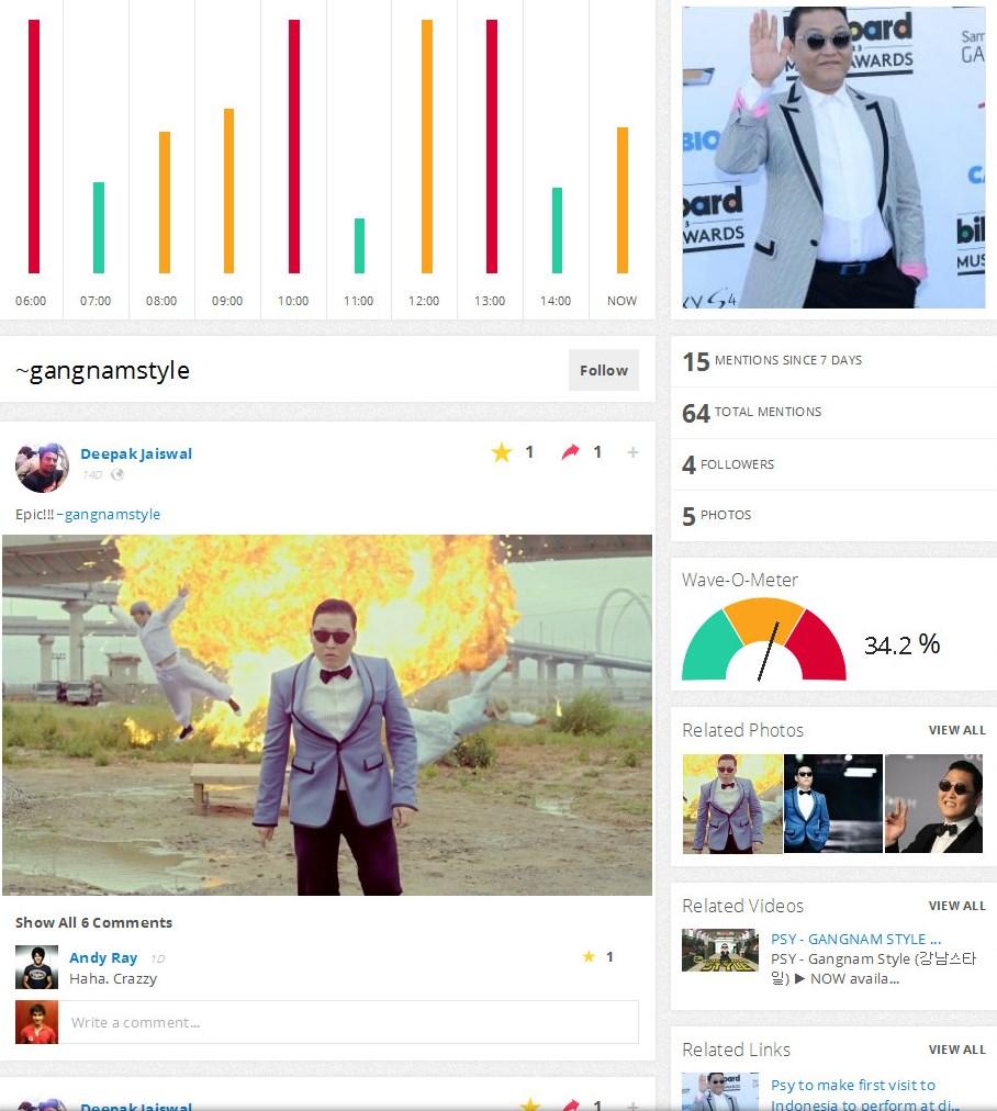 social media platform vebbler waves