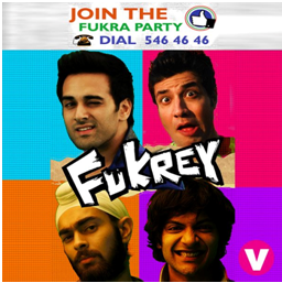 Fukrey promotion done by channel V