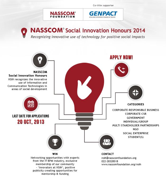 NASSCOM Social Innovation Honours Generic 2014