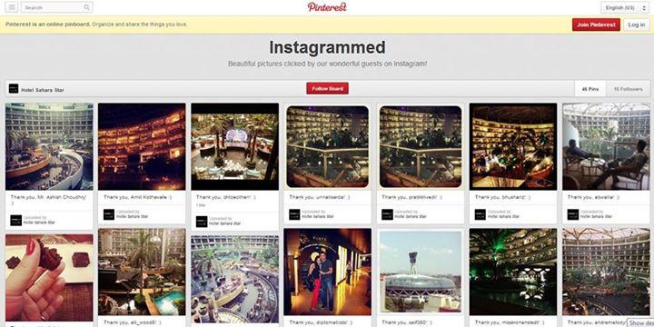 Pinterest Sahara Star