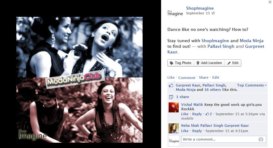 ShopImagine.in Facebook Teaser