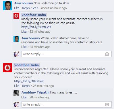 Telecom Industry Vodafone Conversation