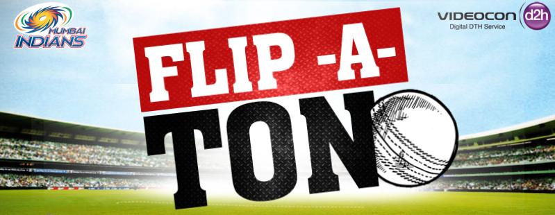 Videocon d2h Flip-A-Ton