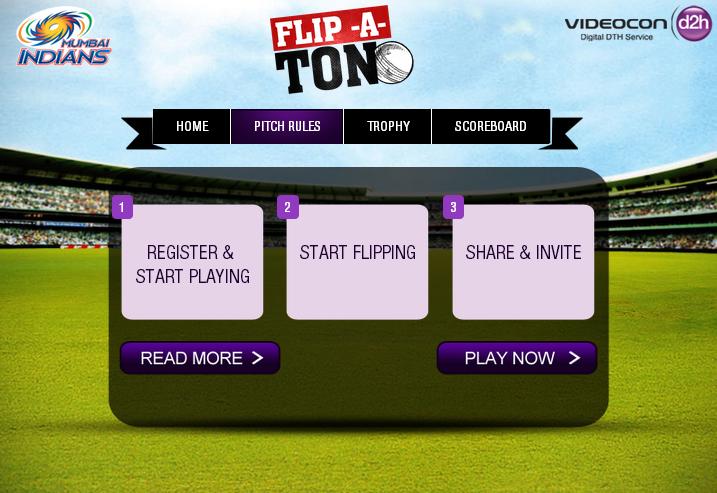 Videocon d2h Flip-A-ton App
