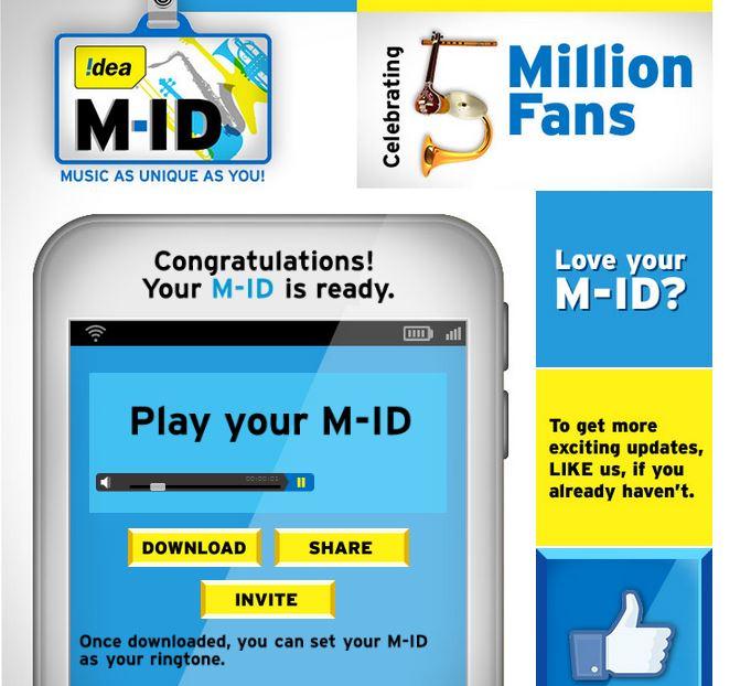 Idea musical identity M-ID