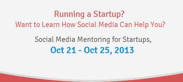 social media mentoring for startups