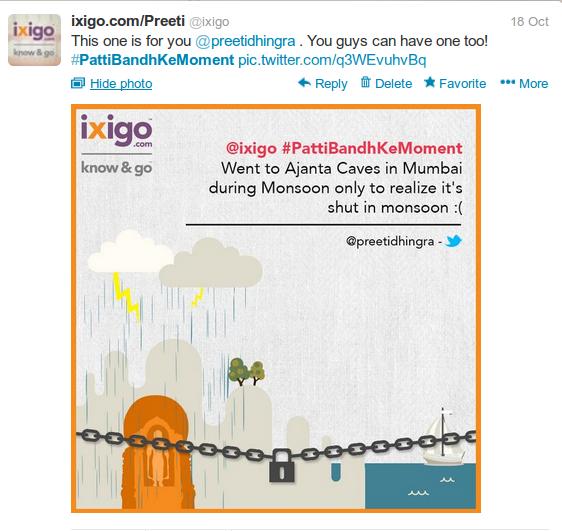 ixigo tweet