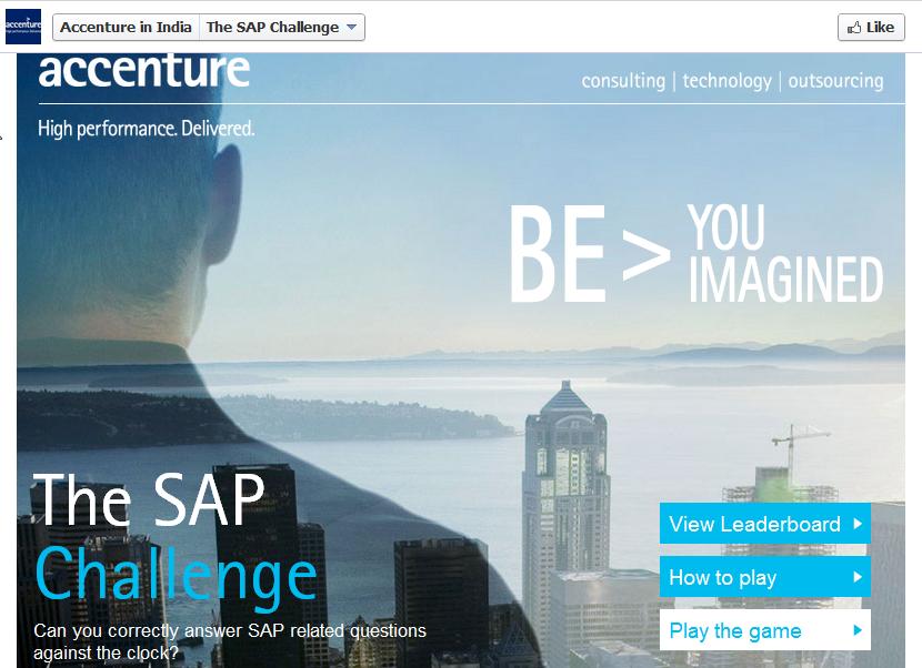Accenture in India Facebook