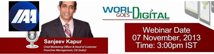 IAA India Chapter Sanjeev Kapur World goes digital