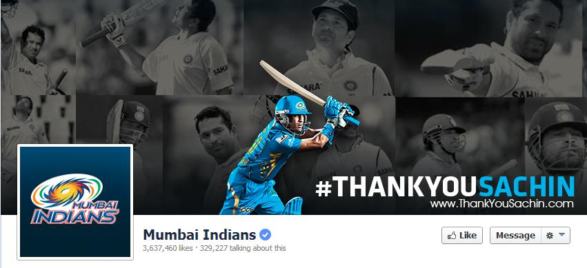 Mumbai Indians Facebook