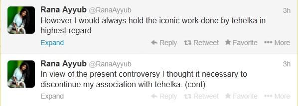 Rana Ayyub tweets