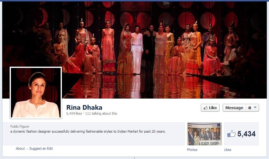 Rina Dhaka Facebook