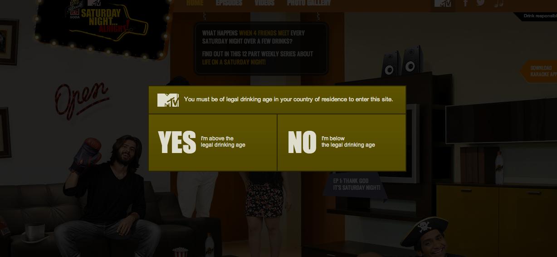 MTV saturday night alright