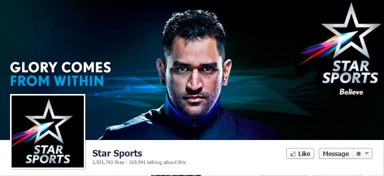 Star Sports Facebook
