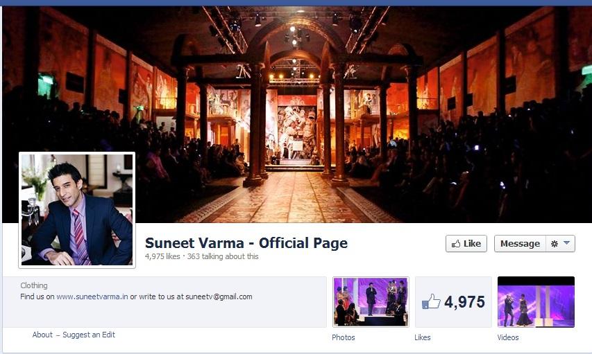 Suneet Varma Facebook
