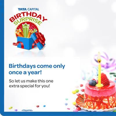Tata Capital Birthday Surprise