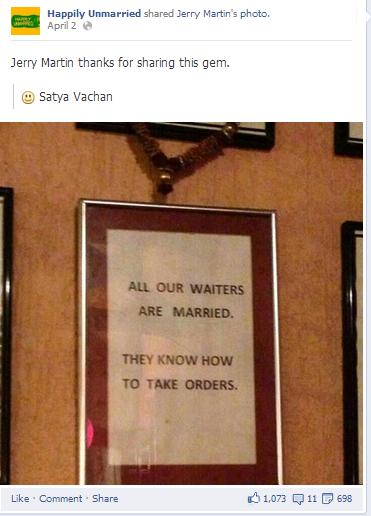 humour facebook post