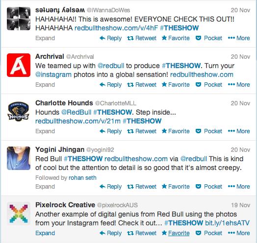 redbull #theshow twitter