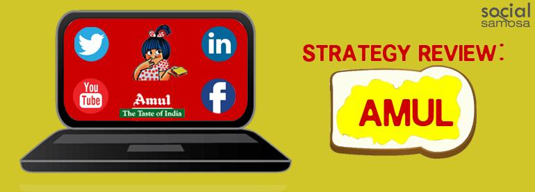 Amul social media strategy