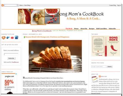 Bong Cook Book