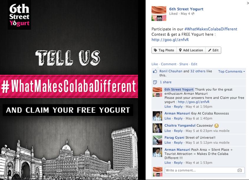 Social Media Case Study: How 6th Street Yogurt Created Awareness About ...