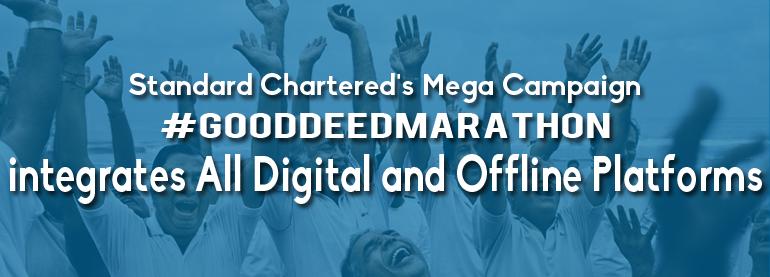 Standard Chartered #gooddeedmarathon