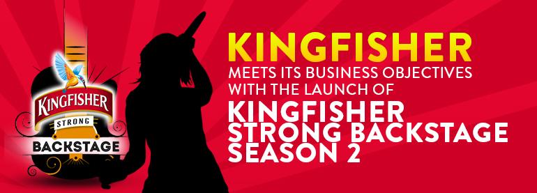 Kingfisher Strong Backstage