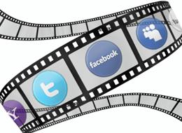 films using social media