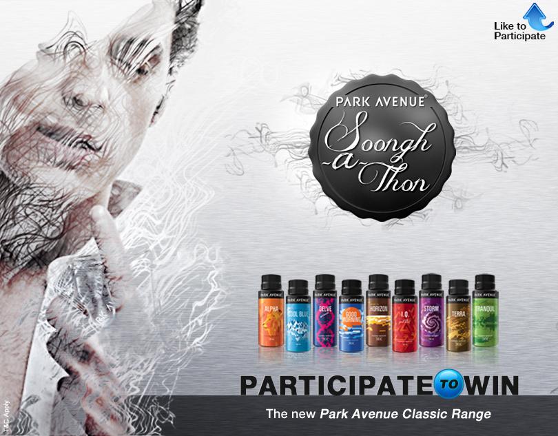 park avenue Soongh-A-Thon social media campaign