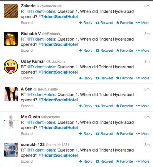 trident spam tweets