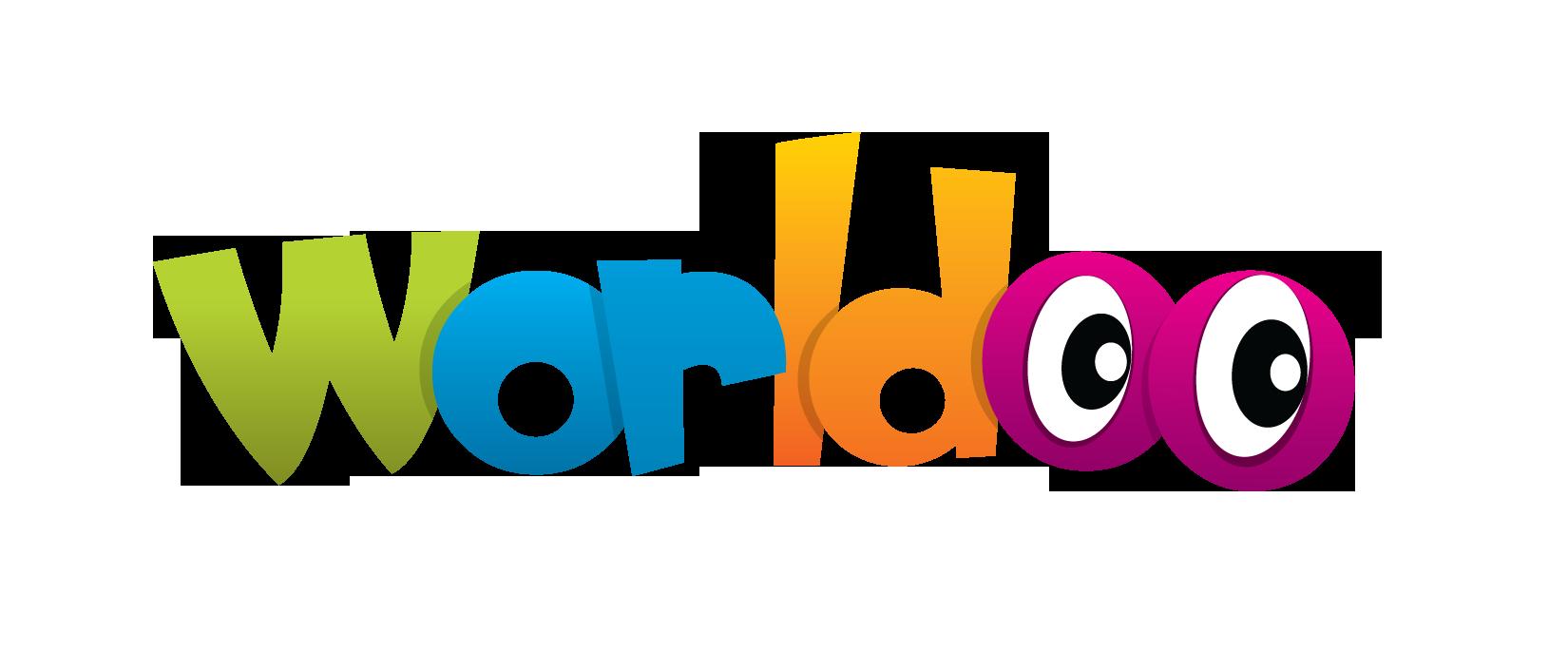 Worldoo Logo white BG